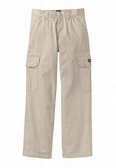 100% Cotton Wrinkle Free Cargo Pants