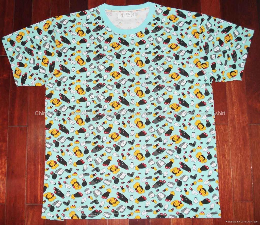 BAPE印花T恤 1