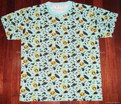 BAPE印花T恤