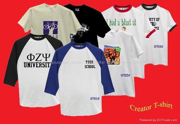 广告衫、文化衫、T恤衫 1
