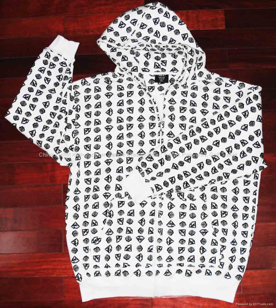 Printed Fleece Sweater 1