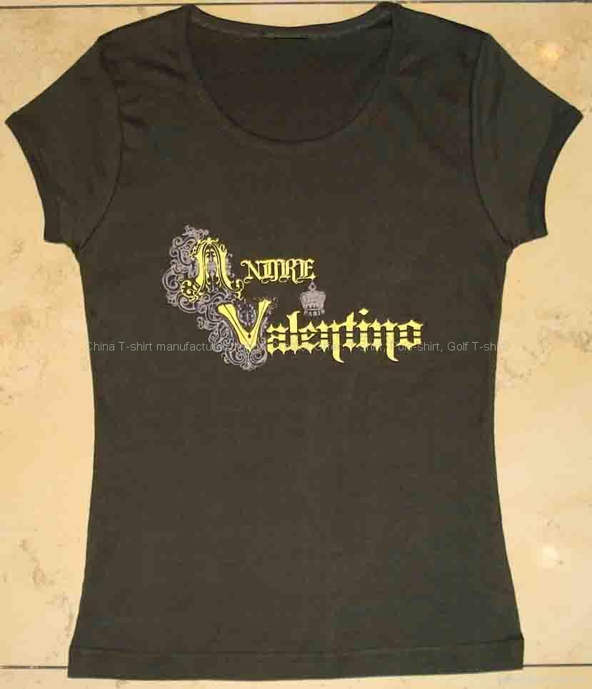时尚女装弹力T恤 1