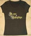 Ladies Fashion Spandex T-shirt