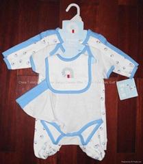 Baby Starter Set Infant Wears 6 piece