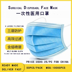 Surgical Disposable Face Mask (Hot Product - 1*)