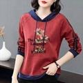Lady Spring Hoody Sweater 7