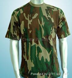 迷彩T恤文化衫 1