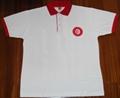 Tunisia Flag Polo Shirt