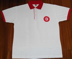 Tunisia Flag Polo Shirt