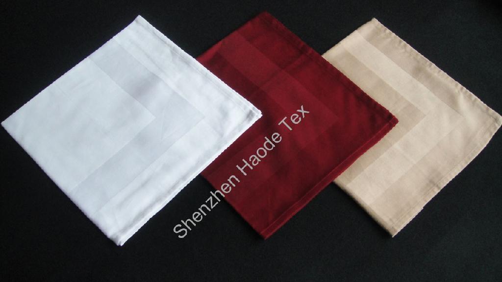 全棉缎框餐巾 1