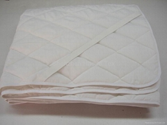酒店护床垫-化纤填充