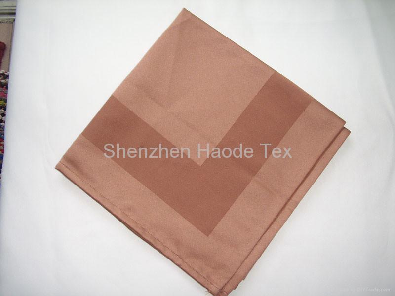 全棉缎框餐巾 2