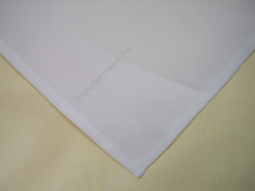 全涤短纤平织餐巾台布 1