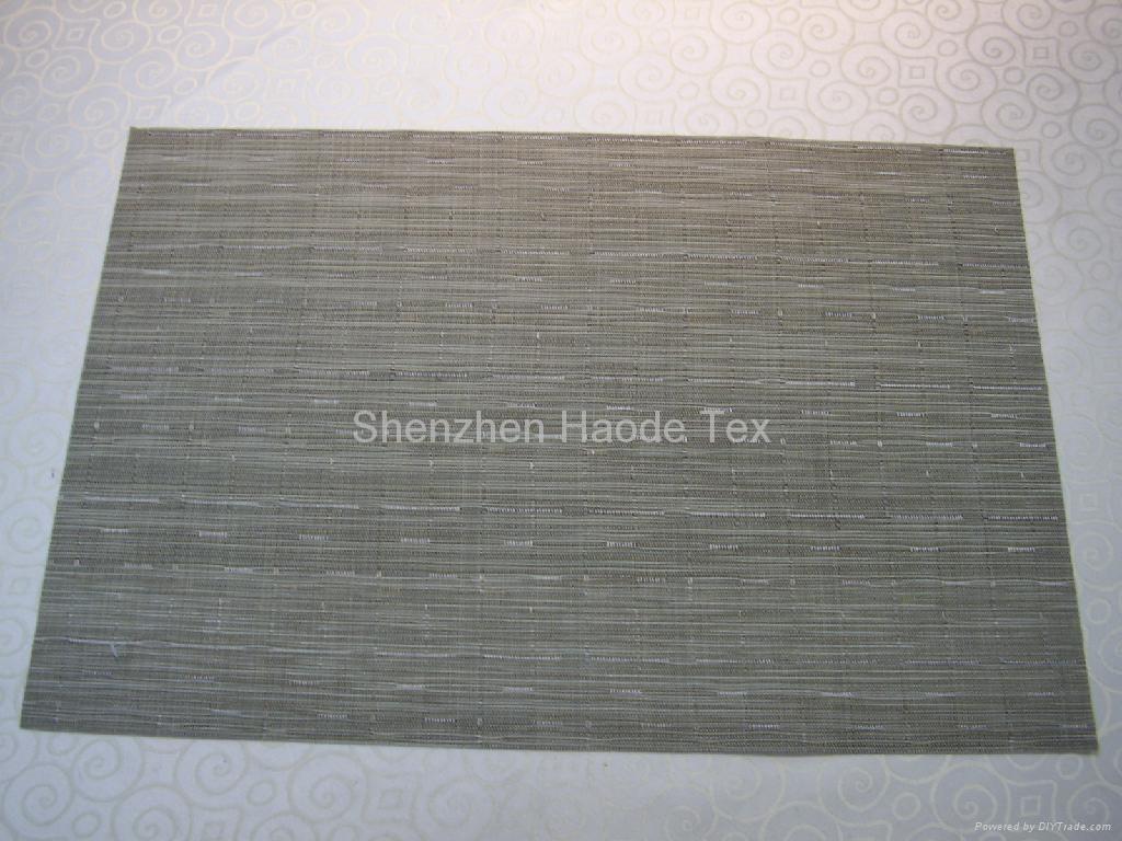 PVC西餐餐垫 2