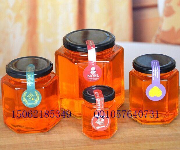280毫升六稜醬菜瓶 罐頭瓶 蜂蜜瓶 2