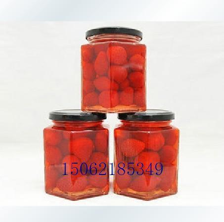 280毫升六稜醬菜瓶 罐頭瓶 蜂蜜瓶 3