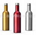 不鏽鋼真空紅酒瓶 3