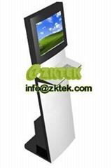 K1 Slim&sleek touchscreen kiosk with keyboard