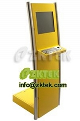 K2帶金屬鍵盤上網自助終端
