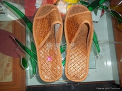 天然山棕拖鞋