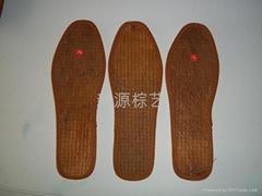 天然山棕鞋墊