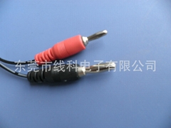Banana plug cable