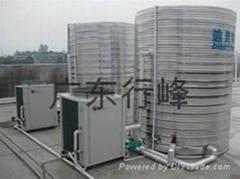 迪貝特DBT-R-2.5HP空氣能熱泵熱水器可根據客戶需求定製商用熱水機