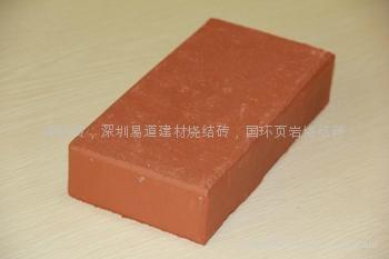 紅色毛面燒結磚 2