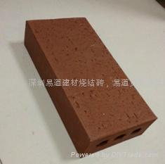 紅色5公分空心燒結磚 4