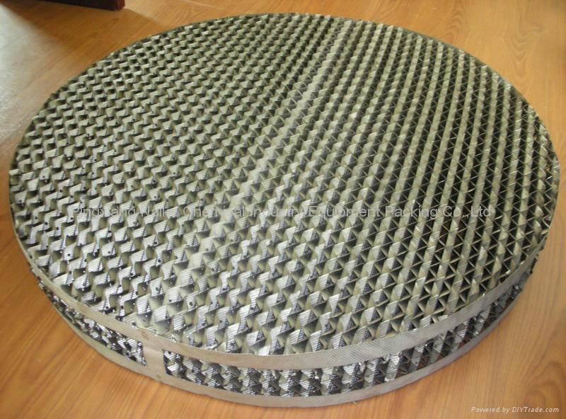 金属孔板波纹填料 4