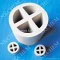 陶瓷十字環填料 陶瓷十字隔板環