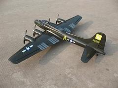 model airplane  B-17 Bomber (hobby)