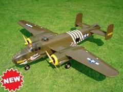 model airplane B-25J (hobby)