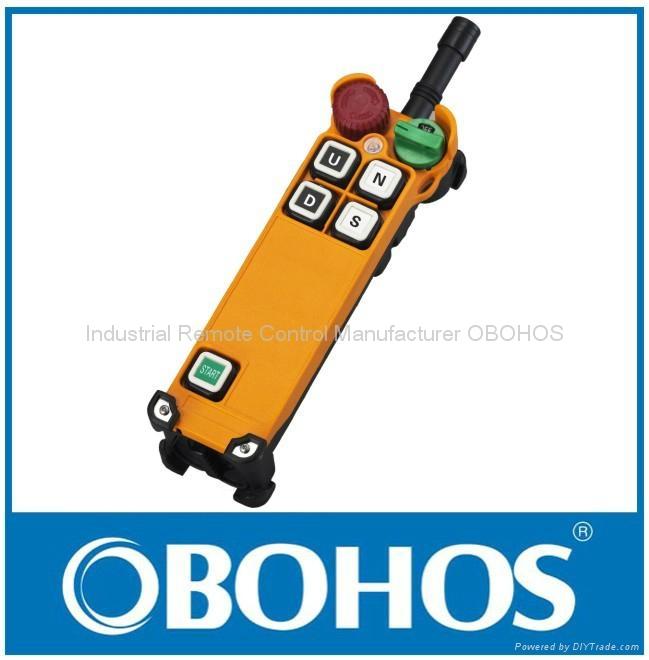 Industrial Wireless Remote Control for Crane Winch 1