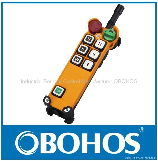 Hoist Industrial Wireless Remote Control Button Switch 1