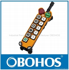 Hoist Industrial Wireless Remote Control Button Switch