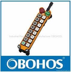 16 Keys Single speed Dual Speed Hoist Industrial Wireless Remote Control Pendant