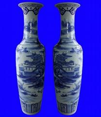上海景德鎮陶瓷大花瓶批發
