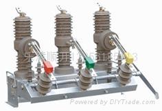 ZW32-12型户外高压真空断路器顺开电气 1