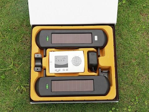 driveway security equipment solar photoelectric beams sensor 1