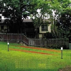 Garden burglaryproof DIY home security solar power wireless infrared light wall