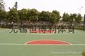 江陰塑膠籃球場