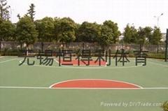 江阴塑胶篮球场