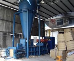 full  automatic baling press machine