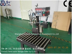 5-20l barrel Weighing Filling Machine