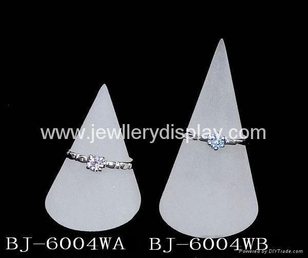 有机玻璃锥形戒指座(珠宝首饰展道具 ) 1