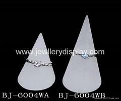 有机玻璃锥形戒指座(珠宝首饰展道具 )