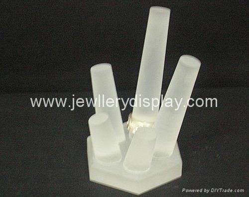 有机玻璃(压克力)戒指展示架(5pcs),首饰包装制品 1