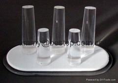 有机玻璃(压克力)戒指展示架(5件头)