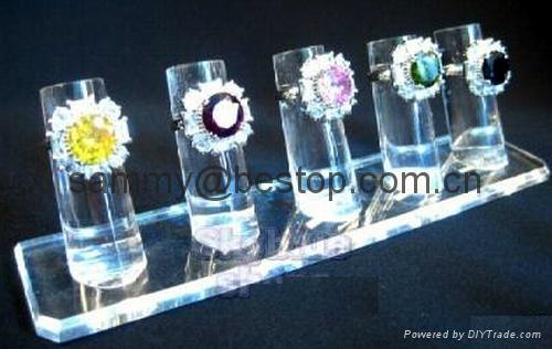 有机玻璃戒指展示架(七件头) 1
